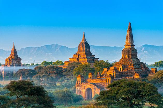 Ananda Temple Bagan Myanmar River Cruise Tour