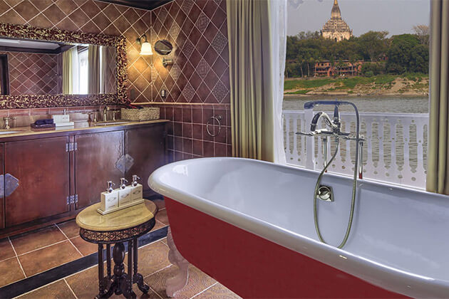 Anawrahta Myanmar River Cruise Bathroom