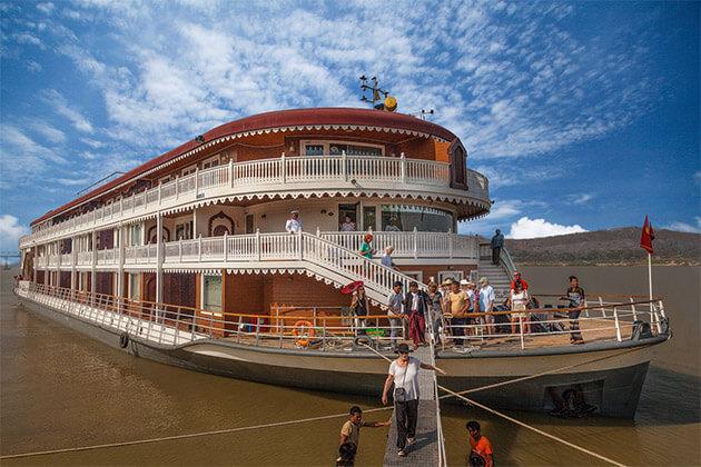 Anawrahta Myanmar River Cruise2