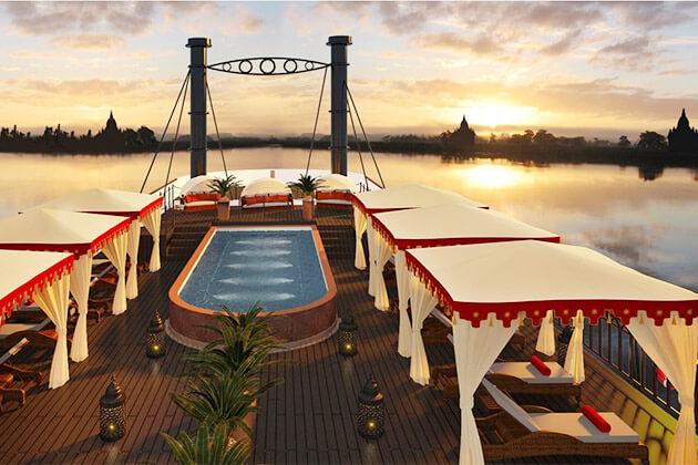 Anawrahta Myanmar River Cruise3