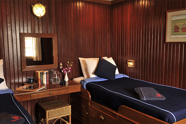 Bedroom in Rv Pandaw II-2