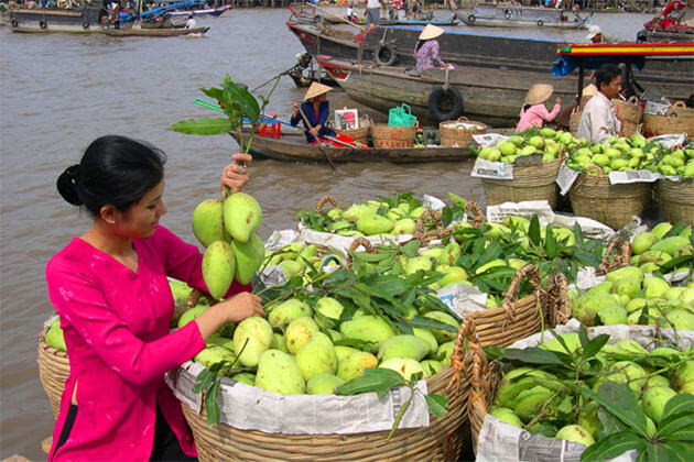Cai Be Floating Market Mekong River Cruise