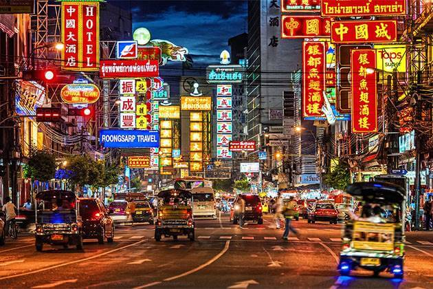 Chinatown in Thailand