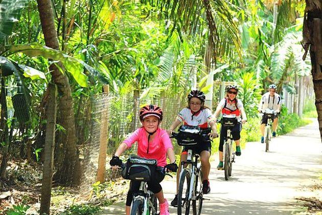 Cycling Mekong Eyes Explorer River Cruise