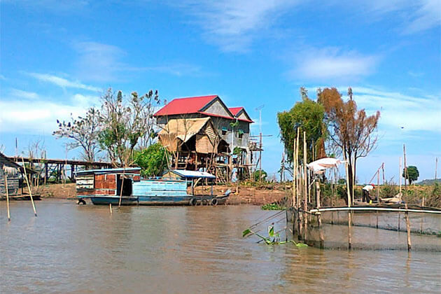 Kampong Chhnang Mekong River Cruise Tours