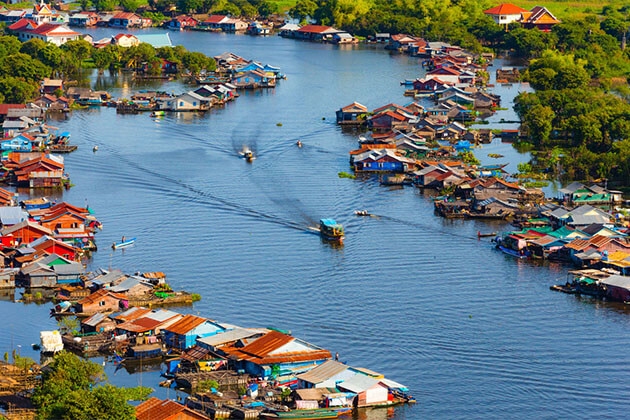 Kampong Louang Asia River Cruise