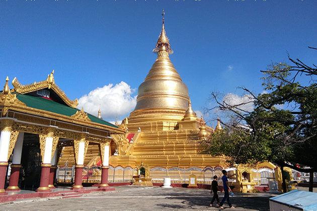 Kuthodaw Pagoda Myanmar River cruise