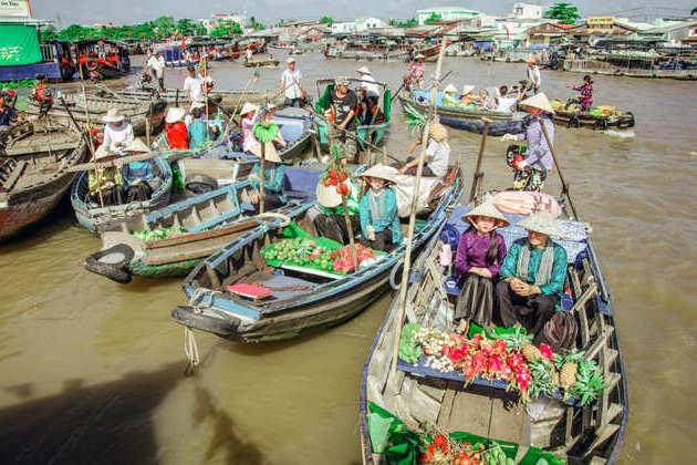 Mekong Eyes Explorer River Cruise-Cai Rang floating market