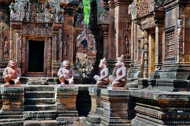 Mekong L'Amant River Cruise-Banteay Srei temple