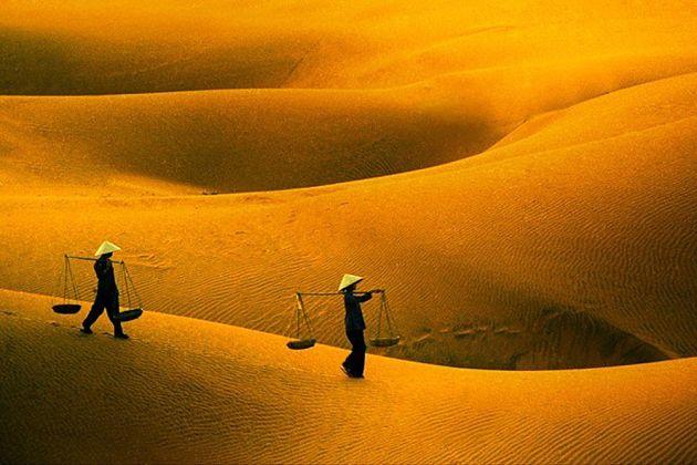 Mekong River Cruise-Mui Ne White Sand Dunes