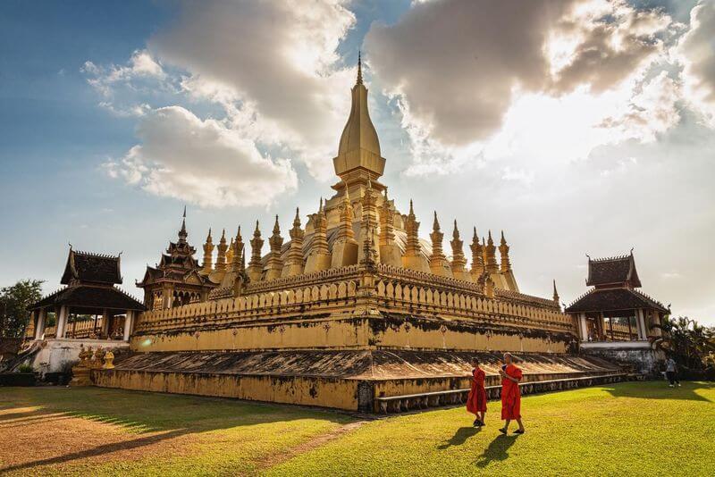 Mekong River Cruise-Pha That Luang