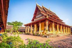Mekong River Cruise-Wat Sisaket