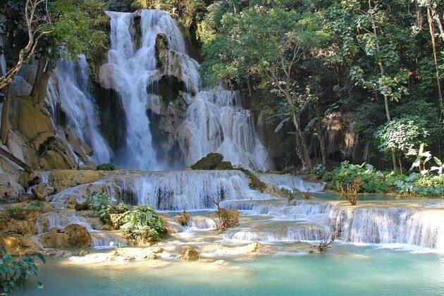 Mekong Sun River Cruise-Kuang Si Waterfalls