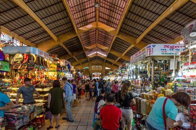 Mekong Toum Tiou II Cruise-Ben Thanh Market