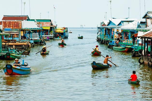 Mekong Toum Tiou River Cruise-Chnok Tru