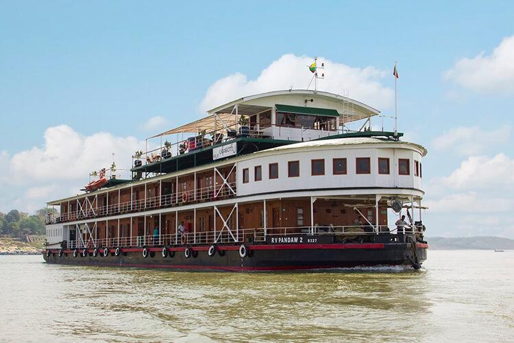 Pandaw 2 Myanmar Irrawaddy River Cruise