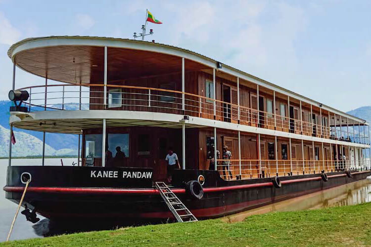 RV Kanee Pandaw Myanmar Irrawaddy River Cruise