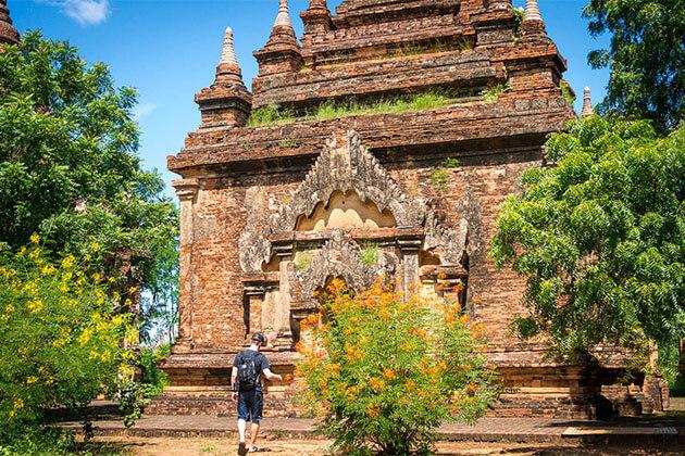 Shwegu Temple in Myanmar River Cruise Tour
