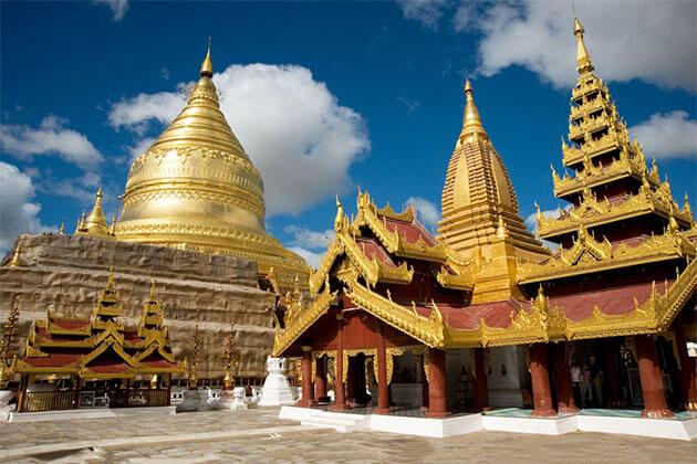 Shwezigon Pagoda Myanmar River Cruise