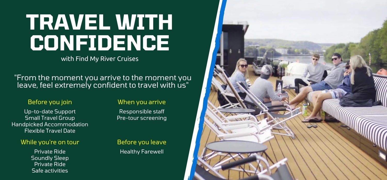 Travel river cruise vacations with great Confidence