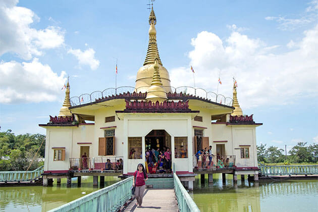 Twante Town Myanmar River Cruise