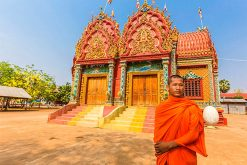 Wat Hanchey Temple Mekong River Cruise Tours