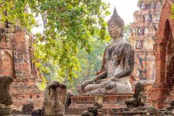 Wat Mahathat Thailand Mekong River Cruise